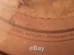 1800s PHOTO OF CIVIL WAR SOLDIER CHAS NAYLOR'S PHILADELPHIA HAND TINTED SWORD
