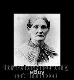 1860s CDV Photo Rare Union Civil War Soldiers Nurse Mary Ann Bickerdyke