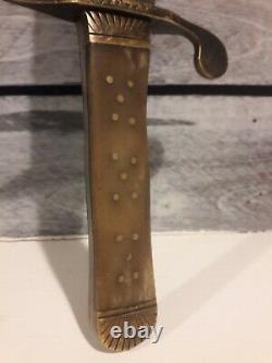 1863 Boyle & Gamble Civil War Bowie Knife
