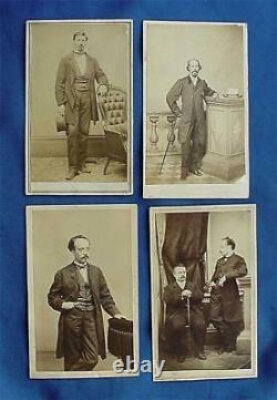 1863 Civil War CDV Photos of Santo Domingo Slavery Commission to Abraham Lincoln