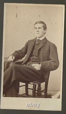 1864 Civil War CDV Oliver Wendell Holmes, 20th Mass Vols Supreme Court Justice