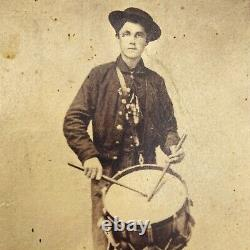 1864 Drummer 1st Michigan Engineers Regiment G Civil War 16 Years Old Cowdrey
