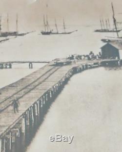 1864 Historic Mathew Brady Photo CIVIL War Virginia City Point Explosion