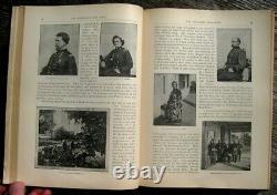 1894 CIVIL WAR Photo Book MATHEW BRADY Military UNION CONFEDERATE Army Navy US