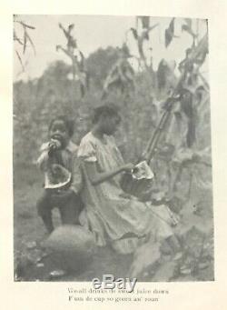 1905 Slave BLACK DIALECT Southern PHOTOGRAPHS Antique BANJO Civil War US SLAVERY