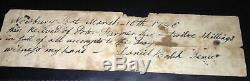 1st New Hampshire Cavalry Collection withFlag Fragment/ Civil War