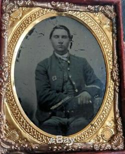 3rd Corps Civil War Soldier Tintype Picture