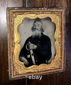 64 Year Old Confederate! Armed Civil War Soldier AC Morton Mississippi Cavalry