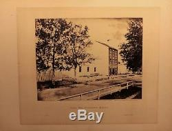 ALEXANDER GARDNER original 1862 CIVIL WAR PHOTOGRAPH Slave Pen Alexandria, VA