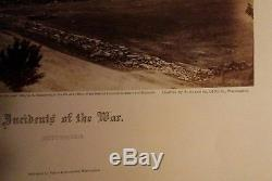 ALEXANDER GARDNER original 1865 CIVIL WAR PHOTOGRAPH Gettysburg, Pennsylvania