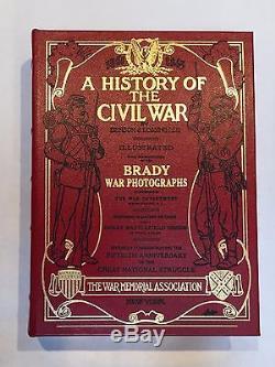 A History of the Civil War B J Lossing photos by BRADY! EASTON PRESS