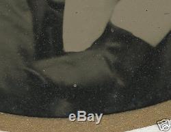 American CIVIL War Era Lost Father Pregnant Mom Freckles Half Plt+ Tintype Photo