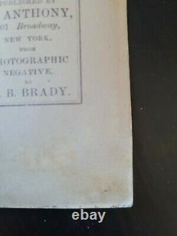 Andersonville Relics Clara Barton Civil War POW CDV Anthony/Brady RARE