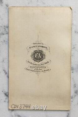 Antique CIVIL War CDV Photograph Confederate General James Longstreet Anthony