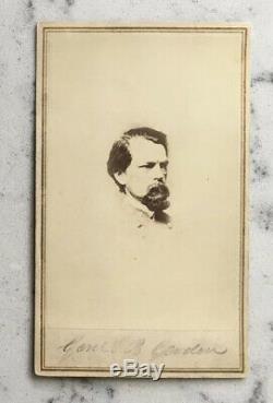 Antique CIVIL War CDV Photograph Confederate General John B. Gordon Anthony Csa