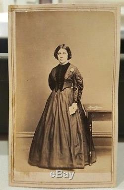 Antique CIVIL War Era Anti Slavery Abolitionist Suffragette Pa Ct Ny CDV Photos