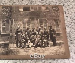 Antique Civil War Officers Lew Wallace Stereoview Photo Card