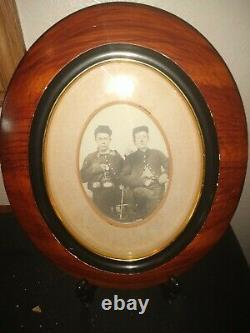 Antique Civil War Photo With Asian American