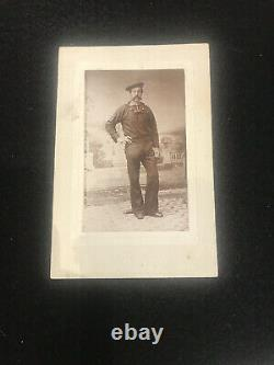 Antique Photo Civil War Sailor 1860s Served On The USS Nyack