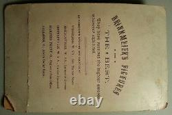 Antique Post CIVIL War Amputee Brinkmeier Lewis Wv Or Oh Cabinet Card Photo