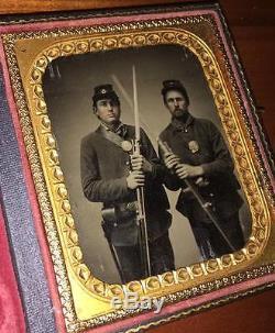 Armed Civil War Soldiers