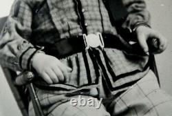 BOY with CIVIL WAR BELT BUCKLE Antique AMBROTYPE Photo GUTTA PERCHA Union Case