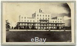 Baton Rouge Louisiana General Hospital Deaf Dumb Asylum 1863 Civil War CDV Photo