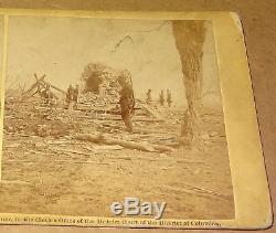 Bull Run Ruins Mrs Henrys House Civil War Stereoview Barnard 1862 Gardner