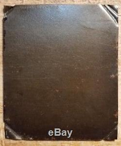 C1963 Civil War Tintype Photo Union Soldier at Attention w Rifle & Bayonet