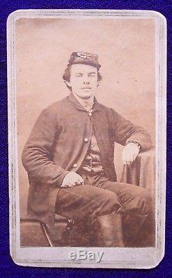 CDV- IDD 16th PA Cav. & Civil War Military Telegrapher