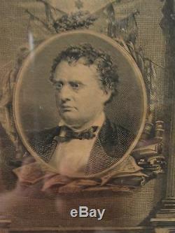 CIVIL WAR 1870 34th CO C MA WILLARD ID COMMENDATION LINCOLN ANDREWS CANNON PHOTO