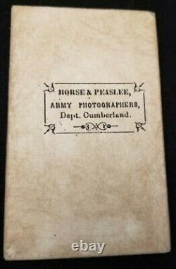 CIVIL WAR Photo From ANDERSONVILLE PRISON Photograph taken by Morse & Peaslee
