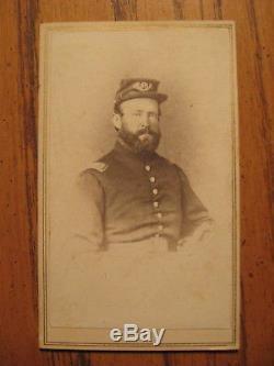 CIVIL WAR SOLDIER CDV ID Captain DeWitt C. Lewis 97th Pa. Vols MOH Winner