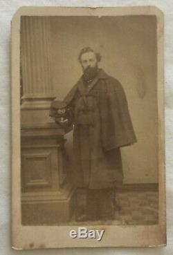 CIVIL WAR SURGEON DR. ZABDIEL BOYLSTON ADAMS CDV PHOTO by E. C. ELY