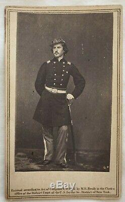 CIVIL WAR UNION SOLDIER ELMER E. ELLSWORTH by MATTHEW BRADY 1st KILLED IN WAR