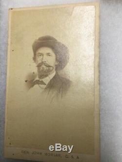 CIVIL War CDV Grouping-confederate General John Hunt Morgan-kentucky Military