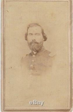 CIVIL War CDV Soldier I. D. A. Bruce 22nd Kentucky