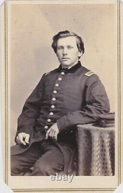 CIVIL War CDV Soldier Officer Captain New York