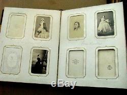 CIVIL War Era Theatre Actors And Acrtress Photo Album