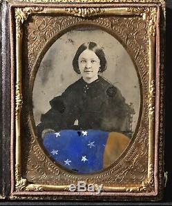 CIVIL War Faces Market Place Confederate, Union, Ambrotype, Tintype