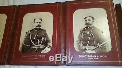 CIVIL War Original Elisha Hunt Rhodes 5 Cabinet Photos Of His Staff Officers