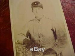 Cabinet Photo Of Texas Civil War Soldier Peter Bird