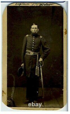 Cdv- CIVIL War Identified Union Captain