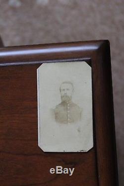 Cdv civil war, 1st Lt, 3rd NY Volunteer Artillery, id'ed N. Hansen or Hanson