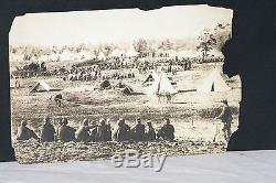 Circa 1860's Civil War Prisoner Photo by Mathew Brady, Used in War Series Book