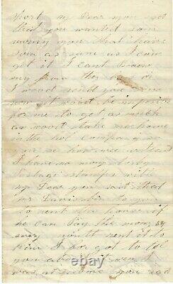 Civil War 10th Illinois Cavalry Regiment Soldier Guards Prisoners