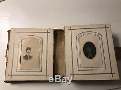 Civil War Album CDV Cabinet Photos Tintypes Colonel Ellsworth Soldier Union