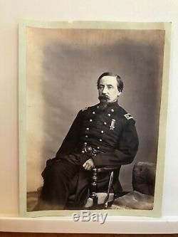 Civil War Albumen Lt. Col. Arthur C. Ducat, 12th Illinois