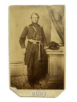 Civil War Armed Officer CDV 53rd Regiment