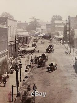 Civil War Atlanta Barnard Albumen Print 1864 Photograph Georgia History